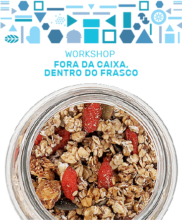 Workshop fora da caixa dentro do frasco